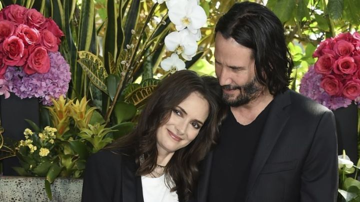 La actriz Winona Ryder revela que lleva años casada con Keanu Reeves por error