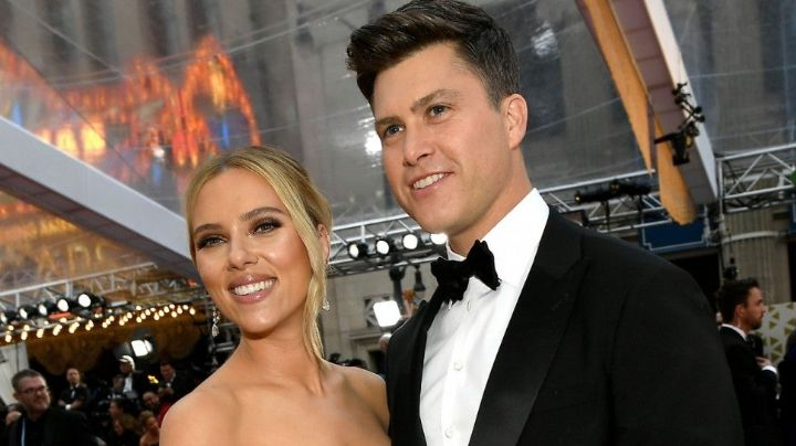 Scarlett Johansson sorprende a todos al haberse casado en secreto con su prometido Colin Jost
