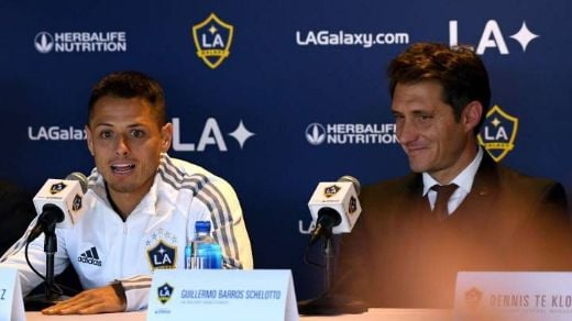 'Chicharito' se queda sin DT: LA Galaxy despide a Guillermo Barros Schelotto