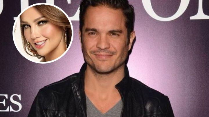 Kuno Becker le hace el feo a Thalía al no quererla para interpretar a María Félix en su bioserie