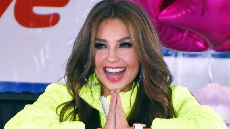 """Thalía se molesta con personas que no usan cubrebocas y recibe críticas por """"presumir lujos"""""""
