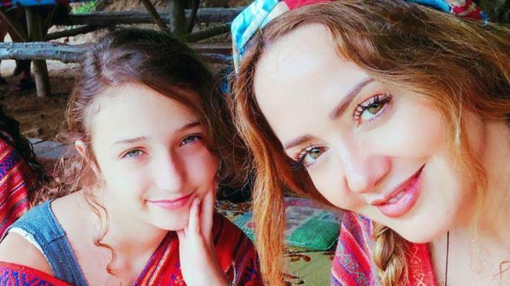 Nina Rubín, hija de Andrea Legarreta, presume su belleza natural en Instagram
