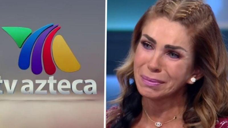 Tras despido de Televisa y la muerte de su hija, TV Azteca da dura noticia a Rocío Sánchez Azuara