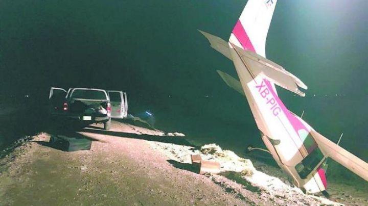 Querétaro: Mueren dos al desplomarse avioneta que transportaba droga