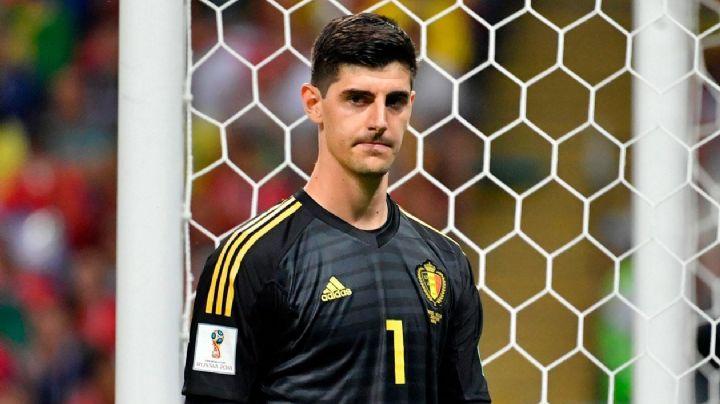 """Courtois deja la concentración de Bélgica con incertidumbre: """"No está apto para jugar"""""""