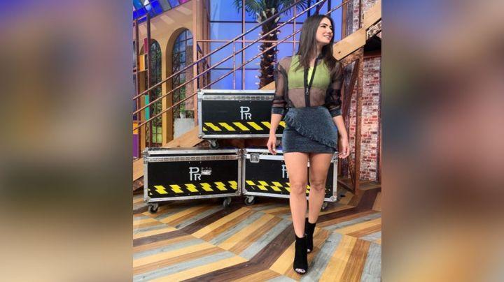 A sus 27 años, Olga Mafud enamora a todo TV Azteca por lucir así de encantadora