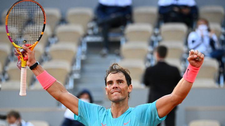 ¡Viejos los cerros! Rafael Nadal agranda su leyenda en Roland Garros; va por su título 13