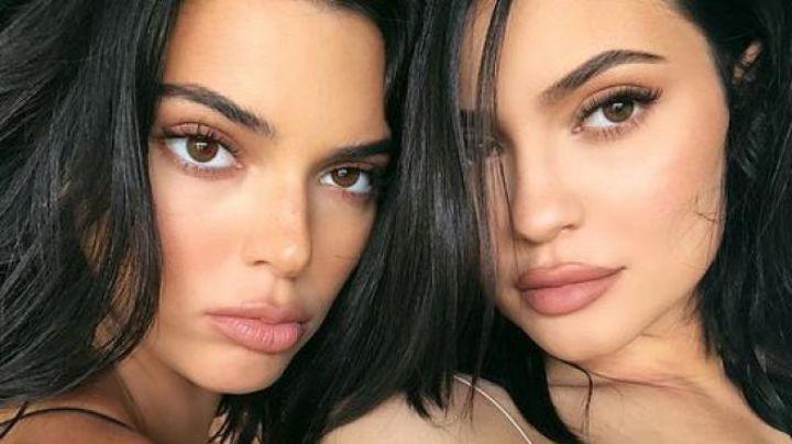 Kylie y Kendall Jenner 'rompen' Internet al recrear una foto de su infancia en este Halloween