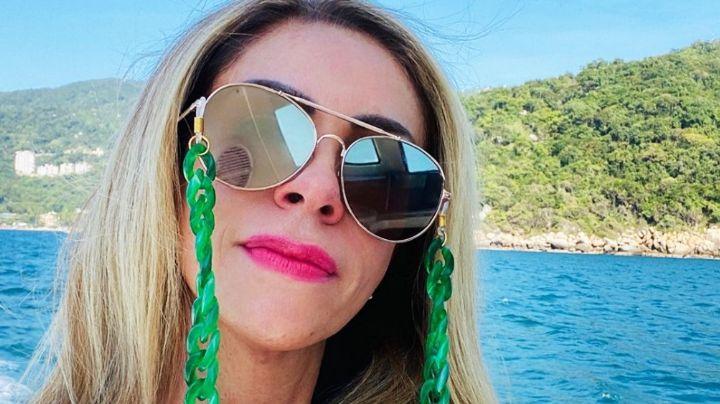 ¡Silueta de jovencita! Rocío Sánchez Azuara derrocha belleza desde la playa