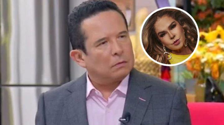 """Gustavo Adolfo Infante entra en polémica tras llamar """"gorda"""" a Elisa Beristain en su programa"""