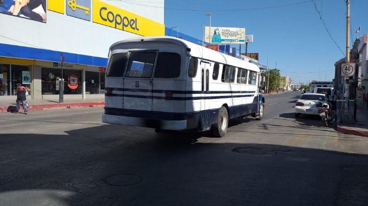 Camiones 'chatarras' del Puerto prestan pésimo servicio en rutas urbanas