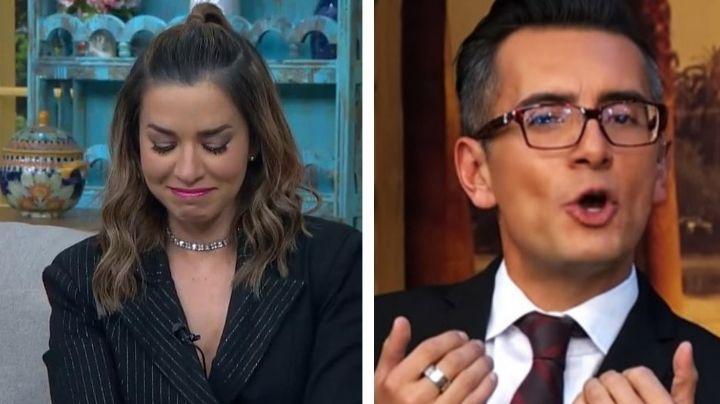"""Laura G rompe en llanto en 'VLA' y Sergio Sepúlveda la humilla en vivo: """"Cállate ridícula"""""""