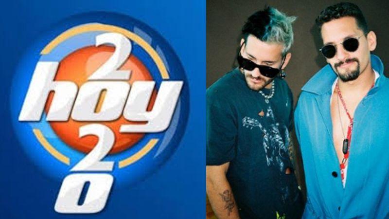 Adiós TV Azteca: Tras formar parte de 'La Voz', Mau y Ricky Montaner llegan a 'Hoy'