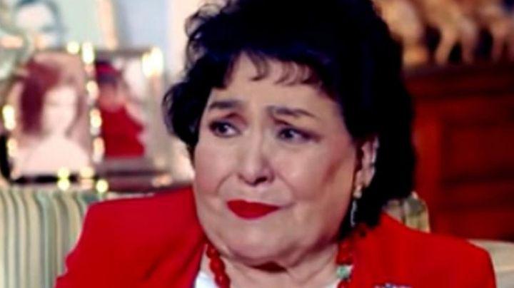 Televisa, de luto: Destrozada, Carmen Salinas confirma muerte de su hermano