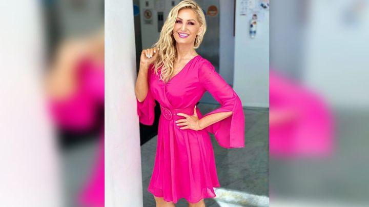 Anette Cuburu arrasa con las miradas al lucir apretado vestido en 'Al Extremo'