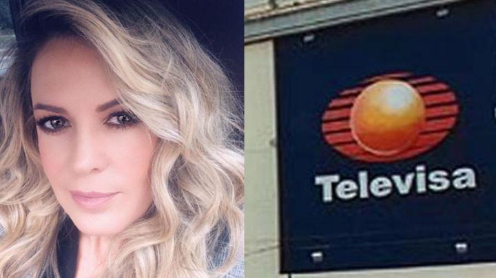 Rebecca de Alba: Tras 'veto' de Televisa, la conductora sorprende al aparecer de esta manera ¿en TV Azteca?