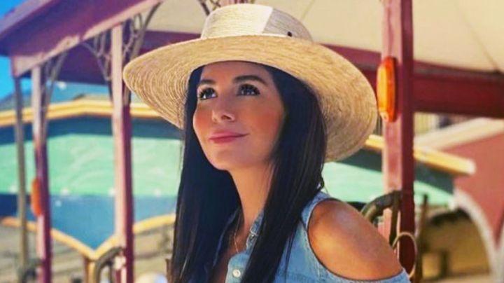 Vanessa Arias, actriz de Televisa, enamora con increíbles jeans blancos