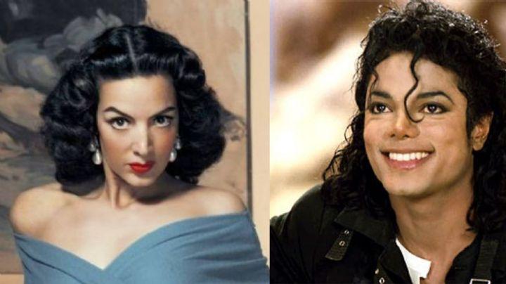 ¿María Félix y Michael Jackson cantaron juntos? Se viraliza curioso video de ambos artistas