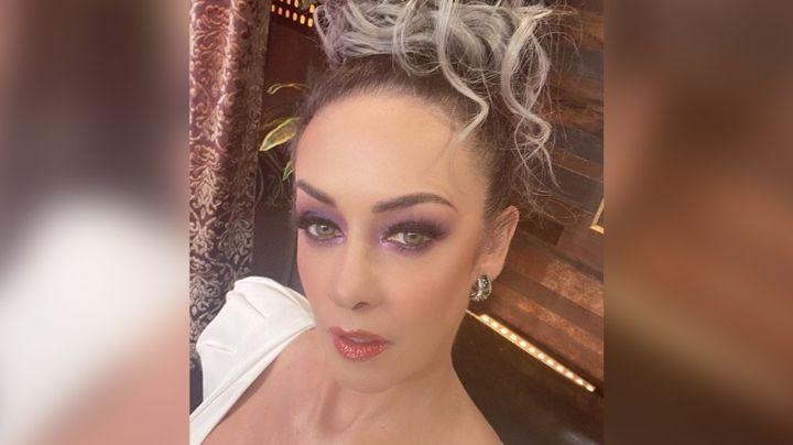 Anette Michel 'derrite' a todo TV Azteca al lucir así de guapa desde foro de 'MasterChef'
