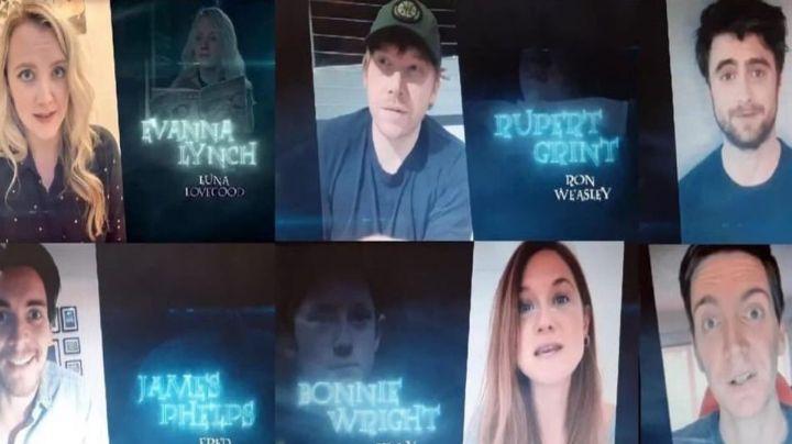 Elenco de 'Harry Potter' celebra reunión virtual por el aniversario de la primera película