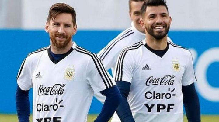 Sergio 'Kun' Agüero sería la clave del Barcelona para mantener a Lionel Messi