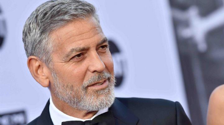 George Clooney explica porque les regaló 1 millón de dólares a sus mejores amigos