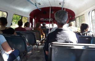 Transportistas urbanos del Puerto suavizan protocolos por Covid-19 dentro de unidades