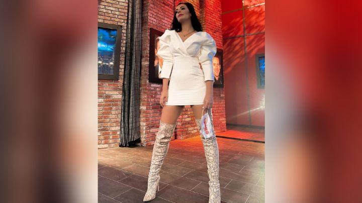 ¡Diosa! Cecilia Galliano paraliza a todo Televisa hacer esta irresistible pose