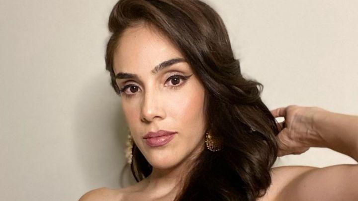 Sandra Echeverría y su espectacular vestido verde enamoran en Instagram