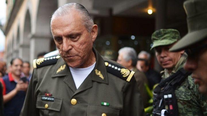 Estados Unidos libera a Salvador Cienfuegos; ya se encuentra en México