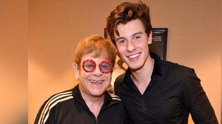 Elton John se convierte en el mentor de Shawn Mendes y lo anima a continuar su carrera
