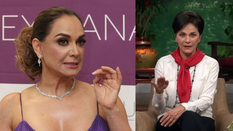 """Desde 'Venteaneando', Pati Chapoy ataca sin piedad a Lupita Jones: """"Es bastante mediocre"""""""