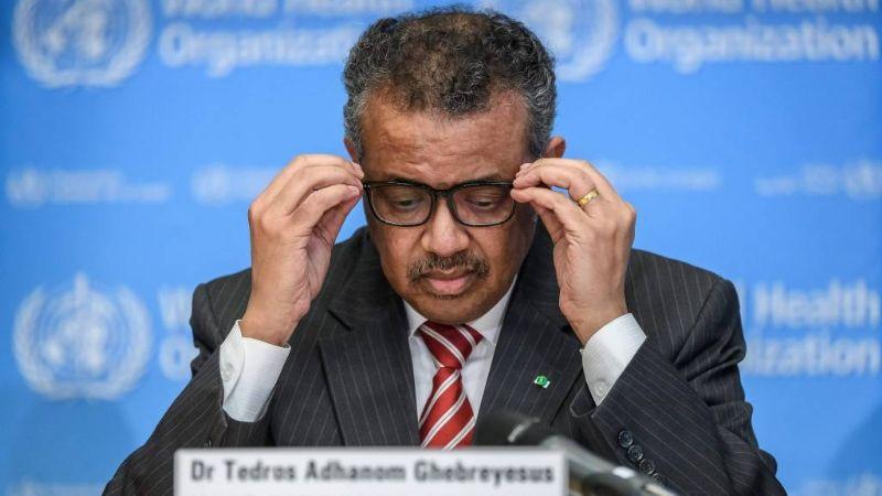 Ni el director de la OMS se salva: Tedros Adhamon, a cuarentena por posible contagio de Covid-19