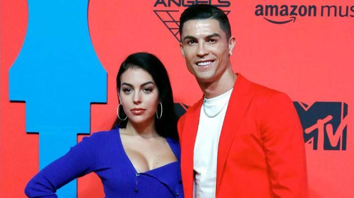 Georgina, novia de Cristiano Ronaldo, alborota redes al exhibirse con infartante 'outfit'