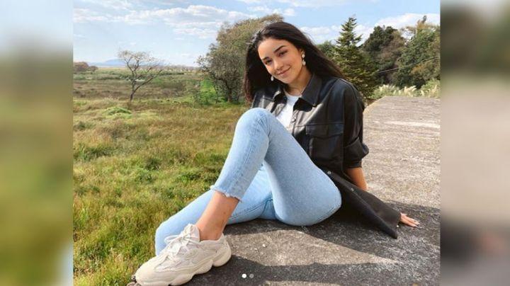 Ale Capetiilo, hija de Bibi Gaytán, seduce Instagram con su belleza al natural