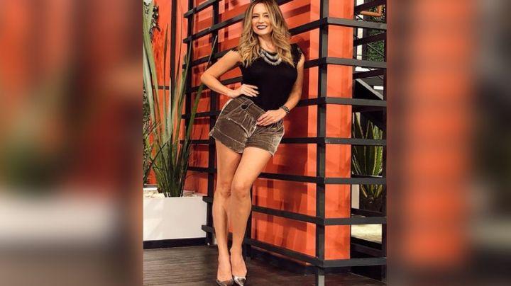 Tras días de ausencia, Karla Gómez regresa a Televisa con majestuoso atuendo