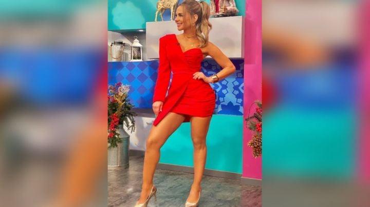 Ximena Córdoba flecha corazones al lucir así de encantadora en foro de Televisa