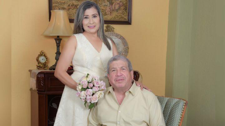 María Galaviz López y Juan García Gámez contraen nupcias