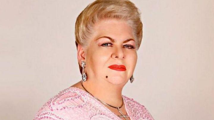 Internautas recuerdan la vez que Paquita la del Barrio se quedó dormida en plena entrevista