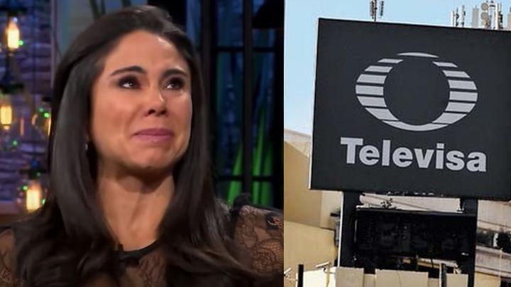 ¿Despedida? Tras destrozar a TV Azteca, Televisa daría golpe a Paola Rojas por fuerte razón