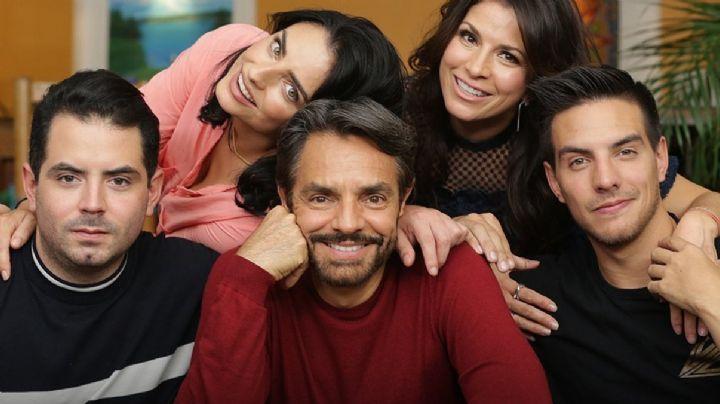 ¿Pleito en los Derbez? Eugenio, Alessandra Rosaldo y sus hijos ¡se agarran a golpes en VIDEO!
