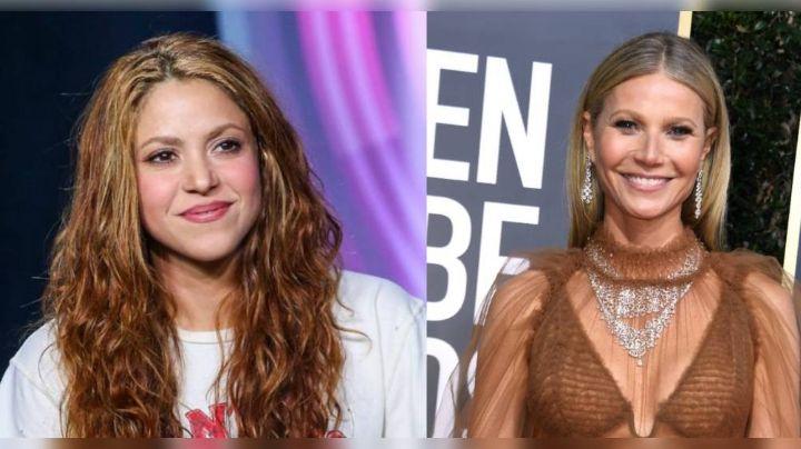 Shakira presume amistad con Gwyneth Paltrow y hace revelación que impacta a todos