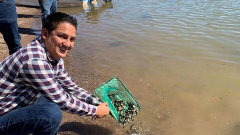 Pescadores se benefician con tilapia liberada en Presa Oviáchic