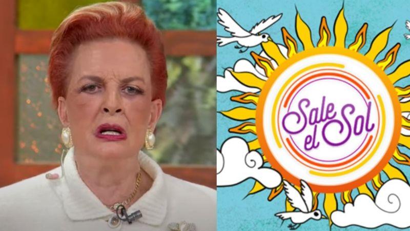 ¿Adiós 'Sale el Sol'? Tras dejar Televisa, Talina Fernández hace fuerte declaración en vivo
