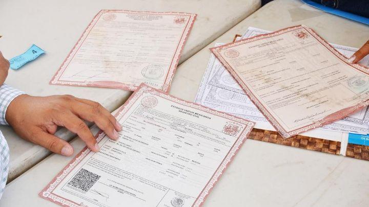 Servicios prestados por el registro civil a la baja por la pandemia