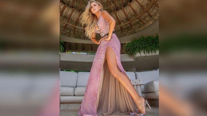 ¡Espectacular! Marjorie de Sousa enciende las redes con impactante y elegante vestido