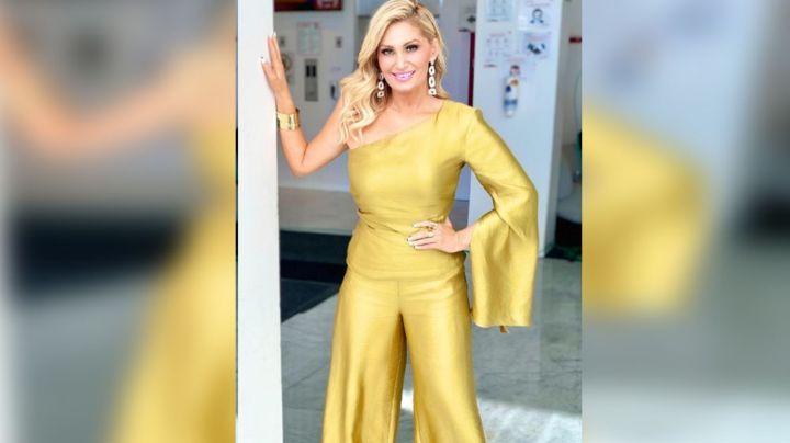 Anette Cuburu la rompe en Instagram al lucir su coqueto vestido desde TV Azteca