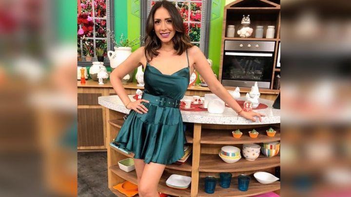 Cynthia Urías estremece las redes al estrenar nuevo 'look' en colorido vestido