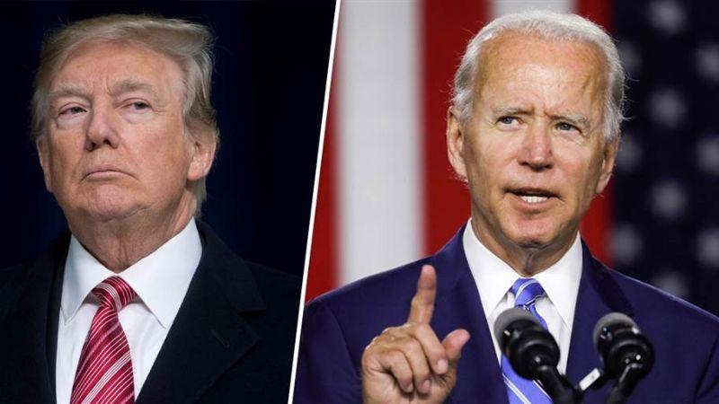 Trump se muda de la Casa Blanca mientras colocan banderas para la investidura de Biden