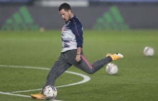 'Ooootra' vez se lesiona Hazard; lesión muscular lo deja fuera por varias semanas